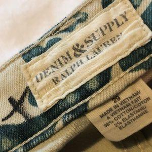 Ralph Lauren Denim & Supply Floral Jeans (29)
